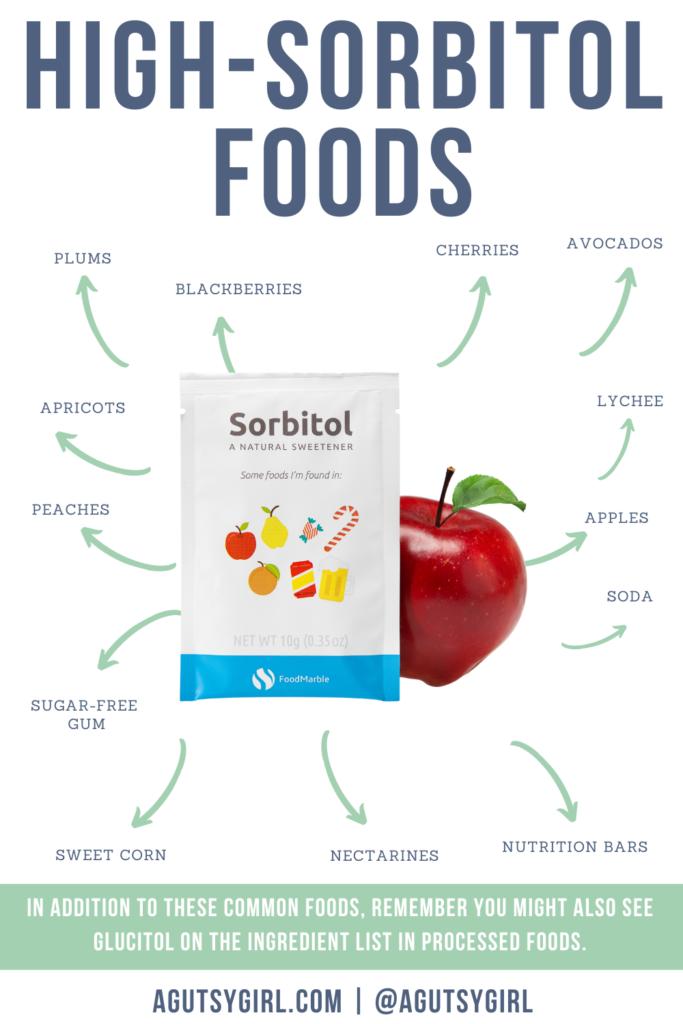 What is Sorbitol mannitol agutsygirl.com #sorbitol #fodmap #SIBO