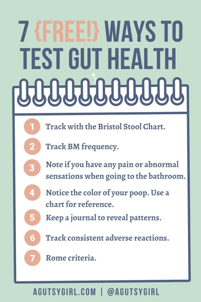 Test Gut Health agutsygirl.com #guthealing #healthtesting #ibs